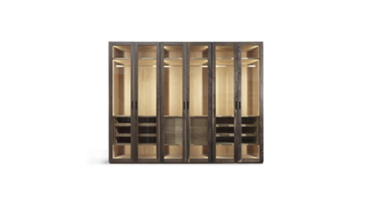 Wardrobe.Natura Four Seasons Glass