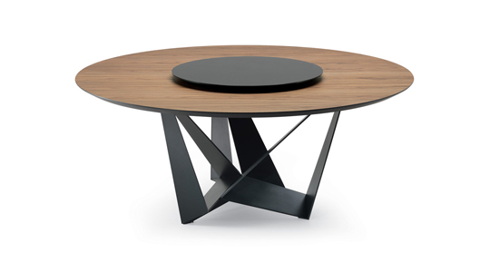 Table.Skorpio Wood Round